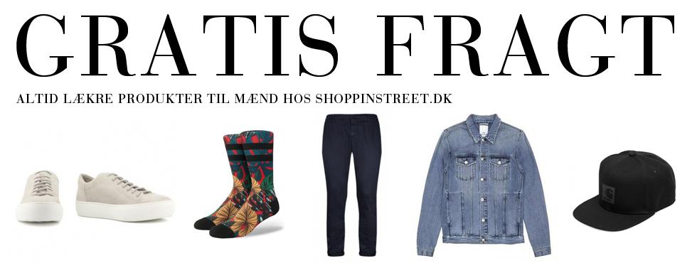 Herre modetøj tilbud- ShoppinStreet.dk - Helsingør shopping