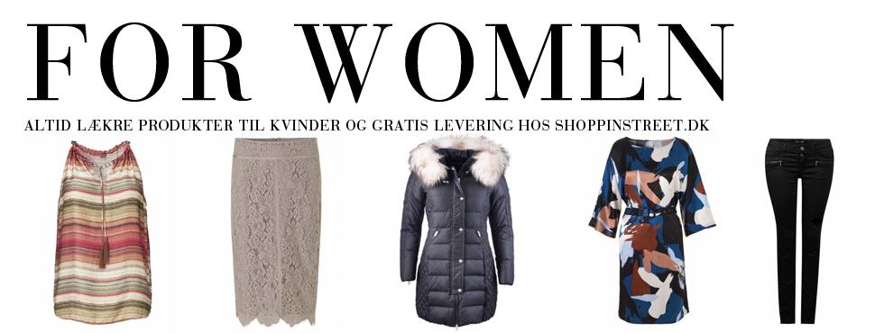 Kvinder modetøj - ShoppinStreet.dk - Helsingør shopping
